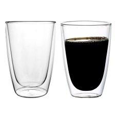 2 szklanki termiczne z podwójną ścianką 270 ml