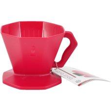 Bialetti Zaparzacz Pour Over Plastikowy 2tz czerwony