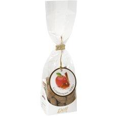 Jabłka w czekoladzie z cynamonem