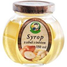 Syrop z cebuli z imbirem