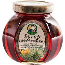 Syrop z zielonej szyszki sosny