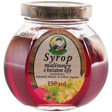 Syrop malinowy z kwiatem lipy