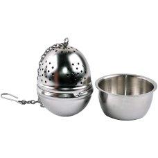 Zaparzacz Metalowy – Jajko z podstawką